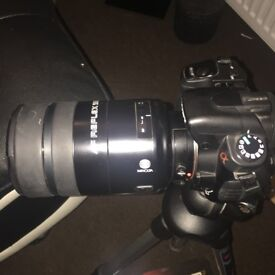 Sony 350alpha with 3 different lenses