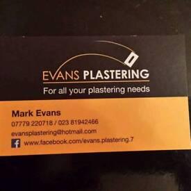Evans Plastering