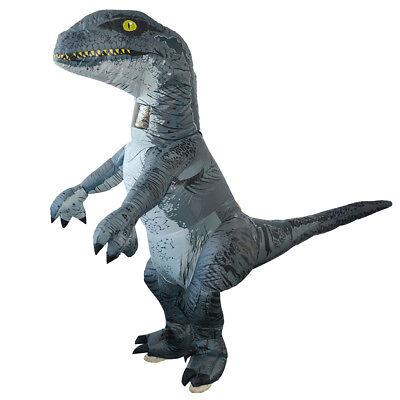 Aufblasbares T Rex Dinosaurier Kostüm für Erwachsene Coslpay Halloween ()