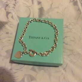 Solid Silver Tiffany necklace