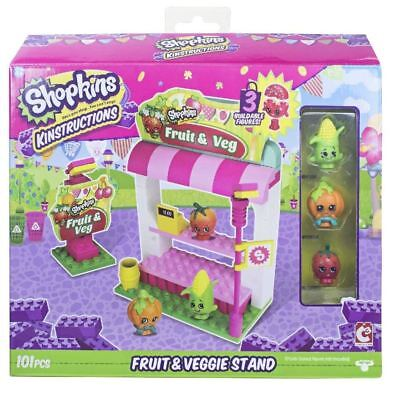 ns Shopping Pack Fruit and Veg Stand Building Set (Shopkins Shopping)