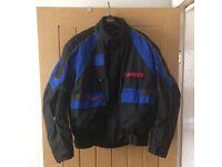 XL Targa textile jacket Blue/Black