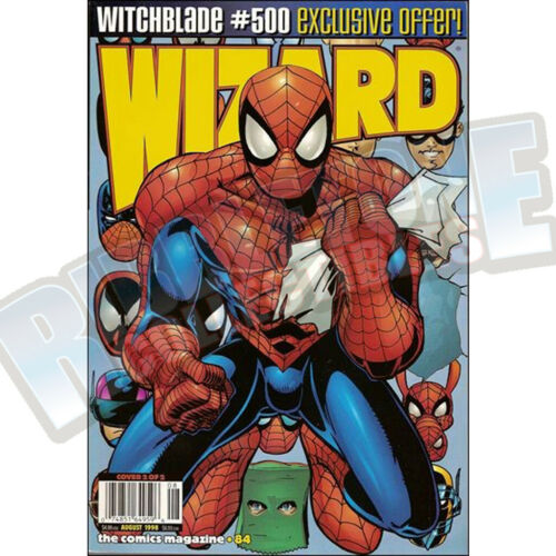 WIZARD THE COMIC MAGAZINE #84 COVER B VF