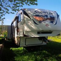 31' Sprinter by Keystone fifth wheel trailer