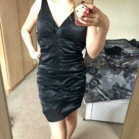 FREE Sexy satin-y mini dress, size Small