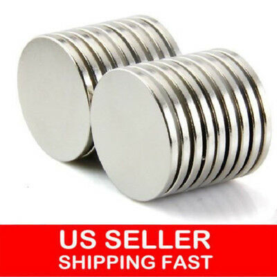 12mm X 2mm Lot 100 50 Neodymium Disc Strong Rare Earth N52 Small Fridge Magnets