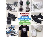 Dior Converse B23 Trainers High Top Shoes Black white cheap UK london essex surrey slough kent