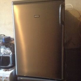 Silver fridge,£65.00, immaculate ,