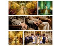 your professional wedding photographer for FREE*. London Only