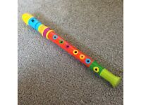 Child's wooden recorder