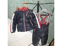 Designer 2 piece Snow Suit. Club Des Sports Size 12 / 18