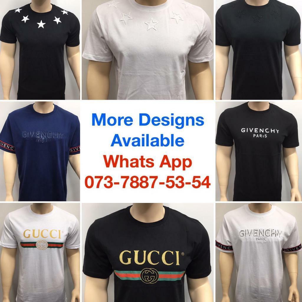 e9a9d7be 2 for £60! Fendi Tshirts Gucci Designer Clothing Givenchy Tops Moncler T-Shirts  london Uk Cheap