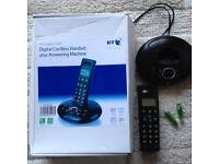 BT digital cordless telephone answer machine