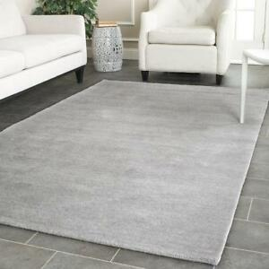 Safavieh Himalaya Collection Him610k Handmade Grey Wool Area Rug 9 Feet By 12