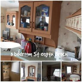 3 bedroom Caravan with full decking