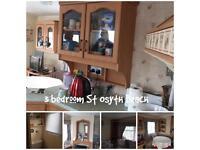 3 bedroom Caravan with full decking