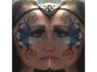 High quality Face Painter | Festival Glitter Artist