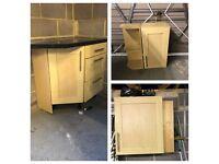 Kitchen cabinets garage shelving