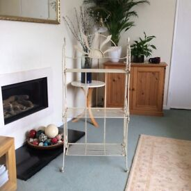 Cream Metal Display Stand - Reduced