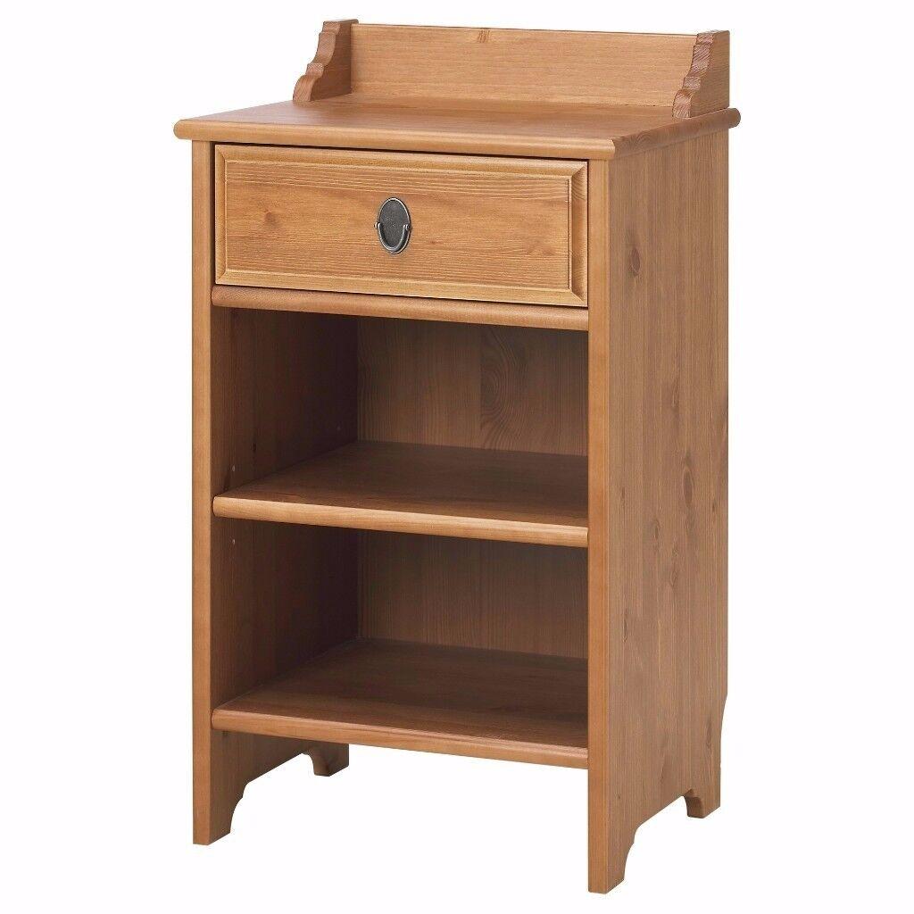 Ikea leksvik coffee table - Ikea Leksvik Bedside Cabinet Table Solid Pine Wood Very Good Condition