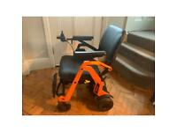 Electric foldable wheelchair