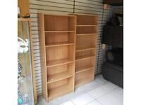 Beech wood shelves