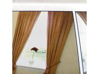 Curtains-2 pairs-fully lined-excellent condition-Laura Ashley material