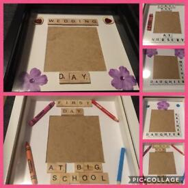 Scrabble boxed frames