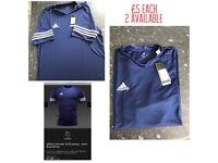 Brand new Adidas football training jersey