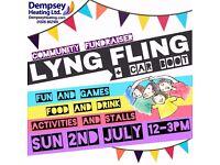LYNG FLING Summer Fete + Car Boot Sale