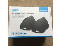 BNIB August Bluetooth stereo speakers