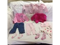 Baby Girl Clothes – 3-6 months – Bundle 8 – Very good condition
