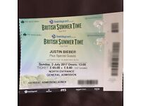 Justin Bieber | HYDE PARK | less than face value | British Summer Time | Sunday 2nd July 2017