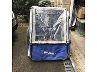 Halfords trail buggy bike trailer