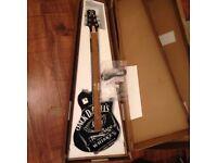 Jack Daniels New Vintage V100 BLK V100BLK Black Gloss Electric Guitar
