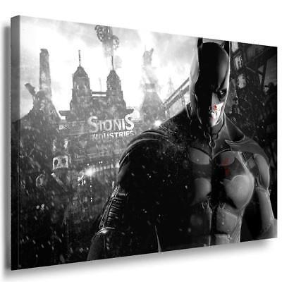 Batman Muskeln Anzug Leinwandbild / LaraArt Bilder / Mehrfarbig + Kunstdruck XXL