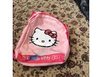 Hello kitty girls pink backpack/bag