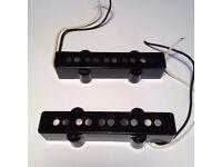 5 String Jazz Bass Electric Guitar Pickups (Bridge and Neck)