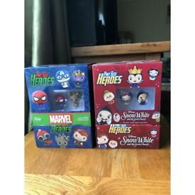 Funko pop pint size heroes Blind bags Snow White and marvel