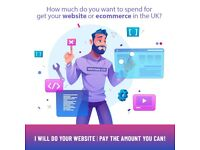 I WILL DO YOUR WEBSITE | PAY THE AMOUNT YOU CAN!
