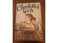 Hard back copy of Charlotte's Web