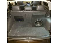 Car audio subwoofers amplfiers stereos xenons led navigation speakers