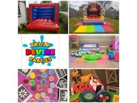 Bouncy castle, disco dome, soft play