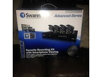(CCTV) Swan Security Recording Kit with 4 Cameras