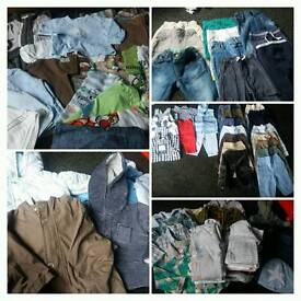 Large selection of boys 3-6 months clothes