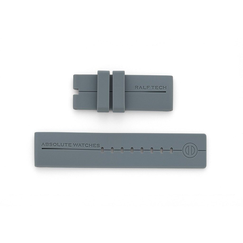 RALF TECH Uhrenarmband Silikon Grau für WRX/ WRV Modelle