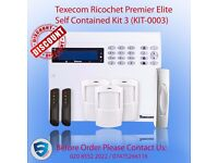 Texecom Ricochet Premier Elite Self Contained Kit 3 - Home alarm system in UK