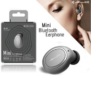 Jellico HM-200 Mini In-Ear Bluetooth Wireless Earphone For Mobile Phone - Black