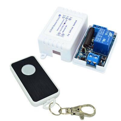 433mhz Wireless Remote Control Switch Dc 5v12v24v 10a 1ch Relay Receiver