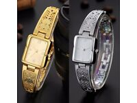 Ladies/Girls Love Gift Watch Stainless Steel Luxury Bracelet Gold Watch London